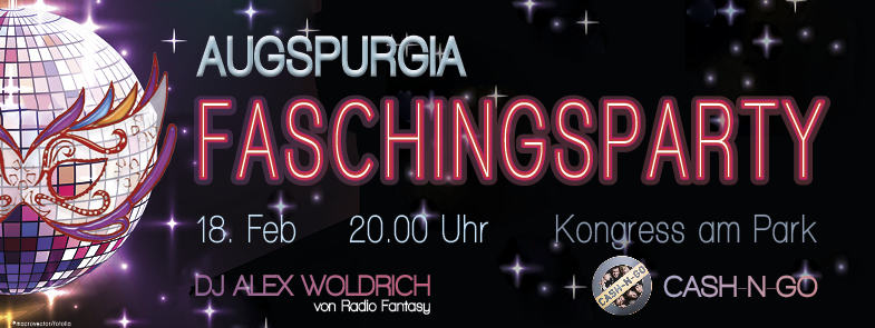 Augspurgia Faschingsparty @ Kongress am Park, Saal Dialog Lebensversicherung AG, Klassik Radio Launch | Augsburg | Bayern | Deutschland