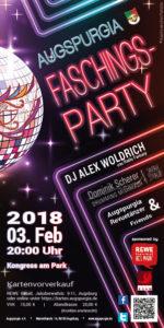 Augspurgia Faschingsparty @ Kongress am Park | Augsburg | Bayern | Deutschland